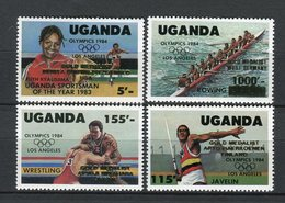 Uganda 1985. Yvert 385-88 ** MNH. - Uganda (1962-...)