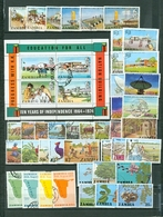 Zambia Maps Views Education More LOT Of 42 Incl 8 SETS QUALITY USED..cat $42 WYSIWYG A04s - Zambia (1965-...)