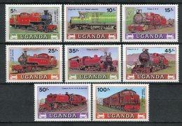Uganda 1988. Yvert 494-501 ** MNH. - Uganda (1962-...)
