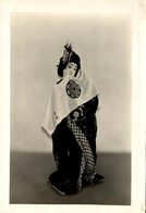 FUJI MUSUME OR WISTARIA GIRL TOKUGAWA DYNASTY MISS KIKUE O JAPANESE JAPON JAPAN 16 * 12 CM Fonds Victor FORBIN 1864-1947 - Fotos