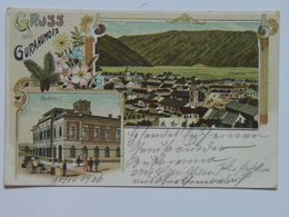 Romania M46 Gurahumora 1906 Gura Humorului Bukowina Litho - Romania