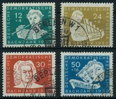 DDR 1950 Nr 256-259 Gestempelt X8717B6 - [6] République Démocratique