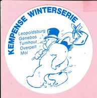 Sticker - KEMPENSE WINTERSERIE - Leopoldsburg-Genebos-Turnhout-Overpelt-Mol - Autocollants