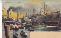 HAMBURG. HAFEN. KNACKSTEDT & NATHER . CPA CIRCA 1900s - BLEUP - Allemagne