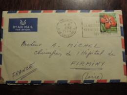 NOUVELLE CALEDONIE   ENVELOPPE  PAR AVION  1958 - Nueva Caledonia