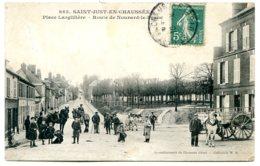 60130 SAINT-JUST-EN-CHAUSSÉE - Lot De 2 CPA - Voir Détails Dans La Description - Saint Just En Chaussee
