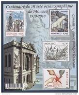 MONACO 2010 BLOC MONACO N°97 ( N° 2727 A 2730 ) NEUF** - Bloques