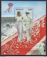 MONACO 2011 - Y. T. N° 101 - BLOC MARIAGE PRINCIER - NEUF** - Blocchi