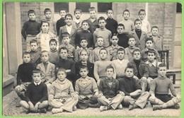 Portugal - Alunos Da Escola Primária Com A Professora - School - École - Schools