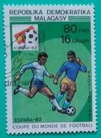 MADAGASCAR 1982. FÚTBOL. COPA DEL MUNDO ESPAÑA 82. USADO - USED. - Madagascar (1960-...)