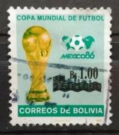 BOLIVIA 1986. MUNDIAL MÉXICO 86. USADO - USED. - Bolivia