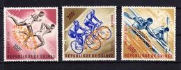 Guinea 239b-241b ** Postfrisch Olympische Sommerspiele 1964 Tokio #RE474 - Guinea (1958-...)