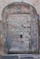 FOLLETO LA ALJAMA JUDÍA DE ALAGÓN. - Tourism Brochures