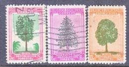Dominican Republic  471-2, C 96  (o)  TREES - Dominican Republic