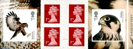 Great Britain 2019 Birds Of Prey 2v S-a In Booklet, (Mint NH), Birds - Birds Of Prey - Stamp Booklets - 1952-.... (Elizabeth II)