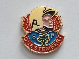 Pin's Sapeurs Pompiers QUESTEMBERT (56) - Pompiers