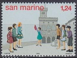 2003 SAINT-MARIN San Marino  ** MNH . . . . [ee58] - Enfance & Jeunesse