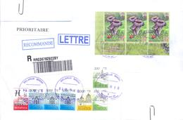 2019. Belarus, Letter Sent By Registered Prioritaire Post To Moldova - Belarus
