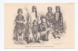 Sketch Of Children Of The Parsi Community In India In The 19th Century, India, Lot # IND 647 - India