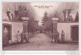 65) Camp De Ger.- (Hautes Pyrénées) Prés Tarbes - Entrée Du Camp  - (belle Animation) - Tarbes