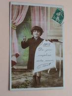 1908 De Joie Emplira Votre Coeur ( ELD ) Anno 1908 > Paris ( Zie / Voir Photo ) ! - Nouvel An