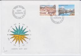 Switzerland  1977 FDC Europa CEPT (DD2-42) - Europa-CEPT