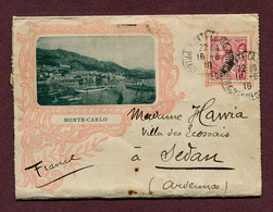 MONTE-CARLO : CARTE-LETTRE Avec Livret Touristique 1910 - Lettres & Documents
