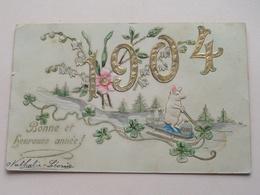 1904 Bonne Et Heureuse Année () Anno 1903 > LOMMEL ( Zie / Voir Photo ) ! - Año Nuevo