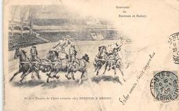 Souvenir De Barnum Et Baily Nr 4 Course De  Chars Romains - Cirque