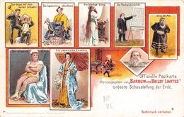 Officielle Postkarte Herausgegeben Von Barnum  And Bailey Limited - Cirque