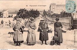 PAYSANNES D'AUVERGNE 1908 TBE - France
