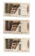 Italie - 5 Billets De 1000 Lires-voir état - [ 2] 1946-… : République