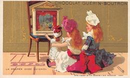 La Poupée Chez Guignol - Chocolat Guérin - Boutron Card - Cirque