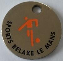 Jeton De Caddie - SPORT RELAXE LE MANS - SIETAM - ARNAGE 77 - En Métal - - Jetons De Caddies