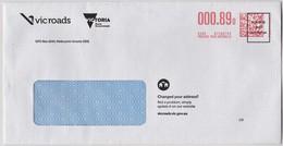 Australia 2019 Vic Roads Postage Paid Letter - Lettres & Documents