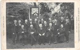 Société Royale Les Excursionistes Fondée Le 17 Avril 1881 -Comité Du Cercle 1909 - Cirque