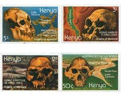 Ref. 105708 * MNH * - KENYA. 1982. MAN ORIGINS . ORIGENES DEL HOMBRE - Kenya (1963-...)