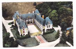 02 Marchais Vers Laon N°39 25 Vue Aérienne Du Château Du Prince De Monaco En 1959 - Laon