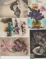 N 3  Lot 100 CPA Différentes Fantaisie - 100 - 499 Postcards