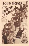 Tous Riches Par Loterie Coloniale Lotto - L Wafelaerts -  Antwerpen - Cartes Postales