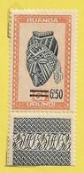 Rwanda Urundi 1949: N°175: Artisanat Et Masques 6.5 Sur 6F Brun-jaune Et Bleu-noir - 1948-61: Mint/hinged