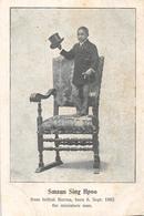 Smaun Sing Hpoo From British Burma - The Miniature Man - Cirque