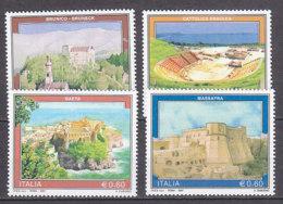 PGL DC0754 - ITALIA REPUBBLICA 2007 SASSONE N°2961/64 ** - 2001-10: Mint/hinged