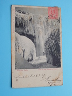 NIAGARA FALLS Cave On The Winds In Winter ( Montreal Import N° 502 ) Anno 1907 > Anvers ( Details Zie Foto ) ! - Chutes Du Niagara