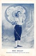 Mac Daulay Champion équilibriste Sur Filde Fer Aérien - Cirque