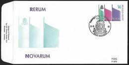 1991 - BELGIË/BELGIQUE/BELGIEN - FDC + Y&T 2408 [Rerum Novarum] + HASSELT - FDC