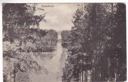 CP1076 Finland Punkaharju 1911, Carte Postale Jaakkima /Carélie Du Ladoga/ To Budapest - Finlandia