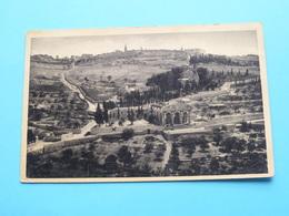 JERUSALEM The Mount Of Olives ( August Rusenberg ) ( C.A.F. ) Anno 1938 > Montigny Sur Sambre ( Details Zie Foto ) ! - Israel