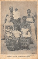 Famille De La Négresse Blanche Albino - Genealogy