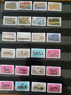 2 Séries Timbres Adhésifs De 2018 - Adhesive Stamps